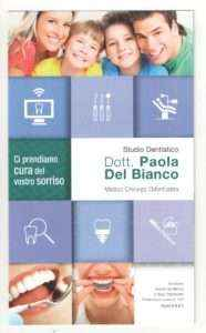 Dentista Del Bianco brochure 2016