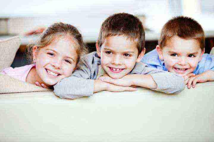 Bambini e carie