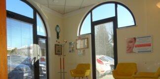 Sala d'aspetto dentista lucca